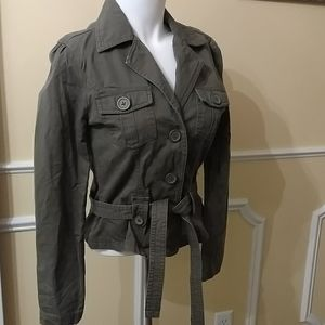 So Real So Right Military Style Jacket.M.